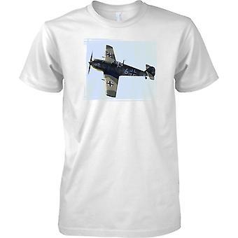 Messerschmitt 109 - Jagdflugzeug der deutschen Luftwaffe - Kinder T Shirt