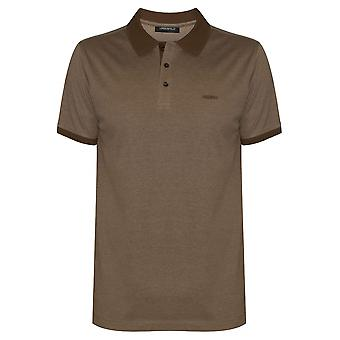 Lagerfeld Lagerfeld Camel Brown Polo Shirt