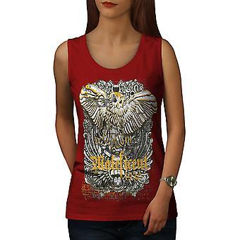 Maleficent ugle dyr kvinner RedTank toppen | Wellcoda