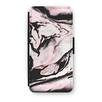 Samsung Galaxy S7 Edge Flip Case - Pink stream