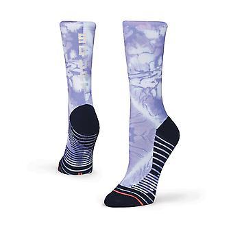 Stance Squat Goals Crew Socks in Purple