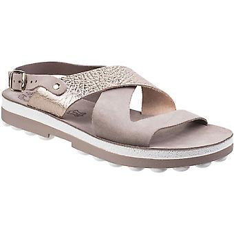 Fantasy Womens/Ladies Aurelia Buckle-Up Ankle Strap Summer Sandals