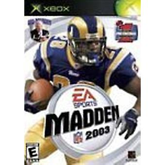 Madden Football 2003  Game - As New