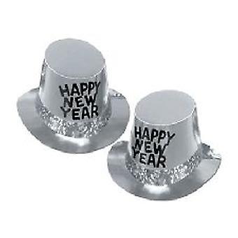 Platina Rush Nieuwjaar cilinderhoed - 10