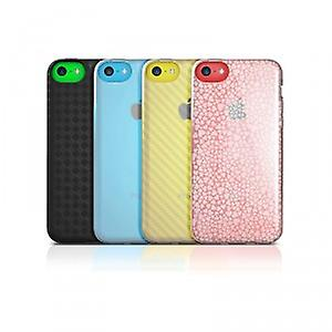 iSkin Flex Cover Case iPhone 5C Carbon black