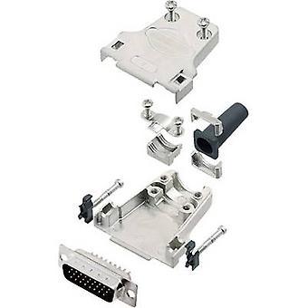 encitech DTZF15-HDP26-K 6355-0063-02 D-SUB PIN strip set 180 ° aantal pinnen: 26 soldeer emmer 1 set