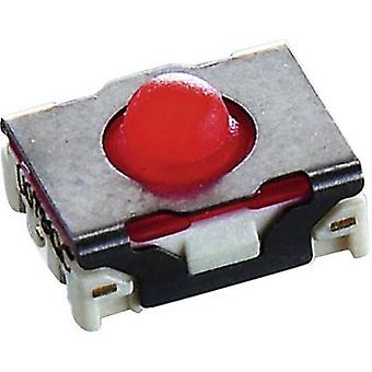 RAFI MICON 5 Pushbutton 42 V DC 0,1 A 1 x Off/(On) momentâneo 1 pc (s)