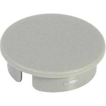 OKW A4113108 Cover + käsinharmaa, musta sopii 13,5 mm pyörivä nuppi 1 kpl (s)