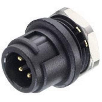 זרם נומינלי מסדרת מחברי תוסף עגולים מסוג אוגדן 09-0977-00-03-1 Subminiature Round Plug-in סידרה (פרטים): 4 A