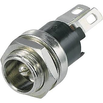 SCI R1-31K Low power connector Socket, vertical vertical 5.5 mm 2.8 mm 1 pc(s)