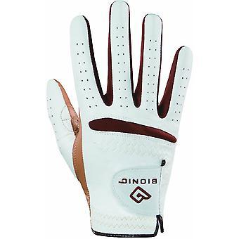 Bionic vrouwen RelaxGrip karamel Palm rechterhand Golf handschoen