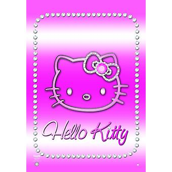 Ciao Kitty poster bling