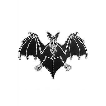 Kreepsville 666 Bat Skelli luut Patch