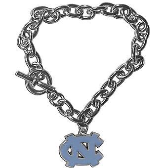 North Carolina Tar Heels NCAA Charm Bracelet