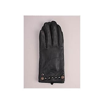 Replay Stud Detail Leather Gloves