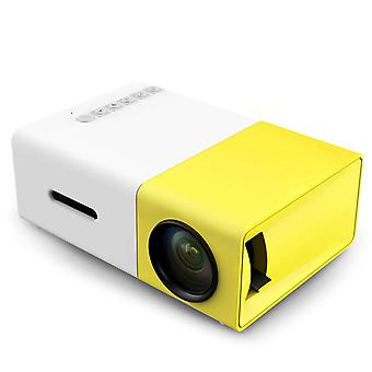 Portable LED Projector-white and yellow