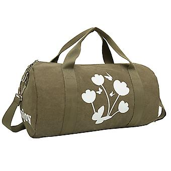 Zeytin yeşili weekendbags veya dayanıklı kumaş egzersiz çantası