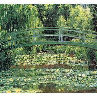 Le Pont japonais et L-Etang des Nympheas, Giverny, Claude Monet, 60x50cm