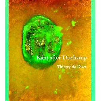 Kant po Duchamp przez Thierry de Duve - 9780262540940 książki