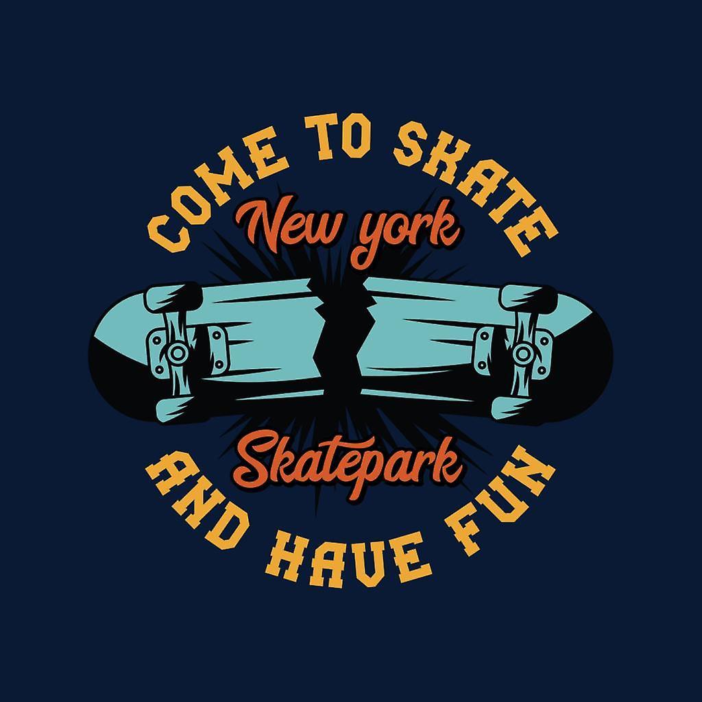 Ven a patinar y tienen diversión Nueva York Skatepark Varsity chaqueta de