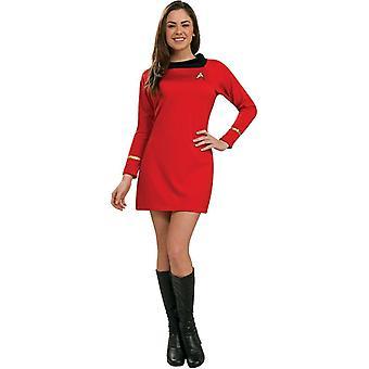 Star Trek rood kostuum volwassen