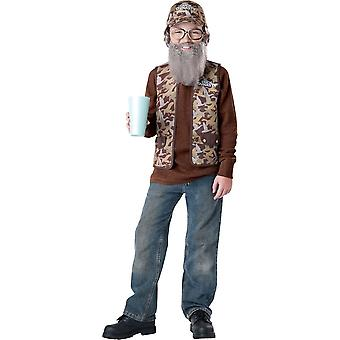 Uncle Si Costume For Children From Duck Dynasty