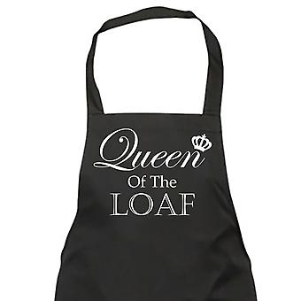 Queen Of The Loaf Black Apron