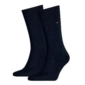 Tommy Hilfiger 2 Pack calcetín clásico - Jeans