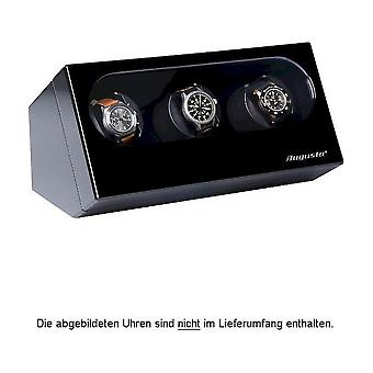 Augusta Uhrenbeweger for three watches black high-gloss finish 5569.321