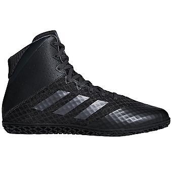 Adidas мат мастера 4 Мужская взрослых борьба тренер обуви загрузки черный