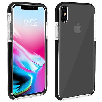 Apple iPhone X/XS étui de protection. Bords souples et renforcés. Transparent, Akashi