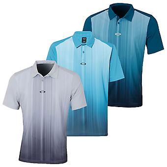 Oakley Mens Infinity Line Kurzarm langlebig Golf Polo Shirt