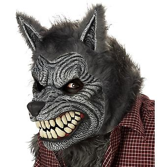 Werewolf Mask Ani-Motion For Halloween