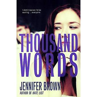 Thousand Words by Jennifer Brown - 9780606353113 Book