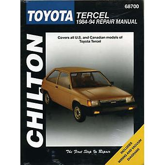 Toyota Tercel 1.5 Estate and Hatchback - 1982-88 by Chilton Automotiv