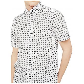 Diesel S-akura Short Sleeve Shirt-Weiß