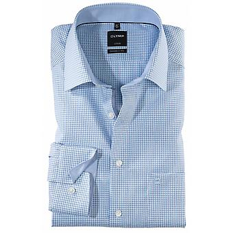 OLYMP Olymp Mini Check Formal Shirt