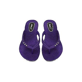 Sara Z Ladies Comfort Flip Flops With Rhinestones