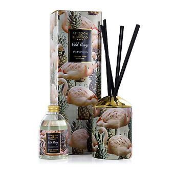 Ashleigh & Burwood Wild Things Luxus duftenden Reed Diffusor Pinemingos - Coconut & Lychee