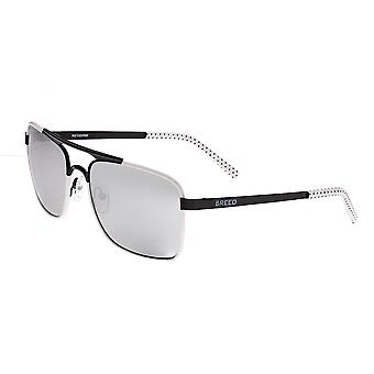 RAS Draco gepolariseerde zonnebrillen - zwart/zilver