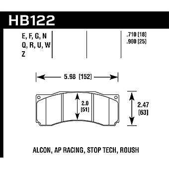 Hawk Performance HB122N. 710 HP plus