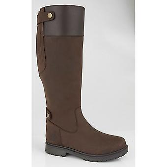 Woodland Womens/Ladies Harper Waxy Leather Country Boot