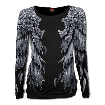 Spiral - seraphim - womens all over print baggy top