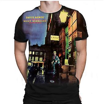 Born2rock - ziggy stardust - david bowie mens t-shirt