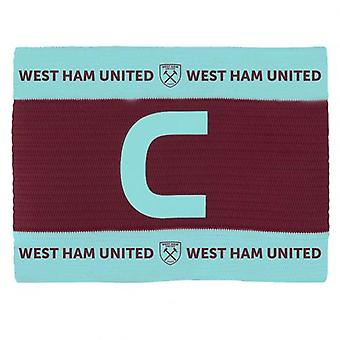 West Ham United Captains Arm Band