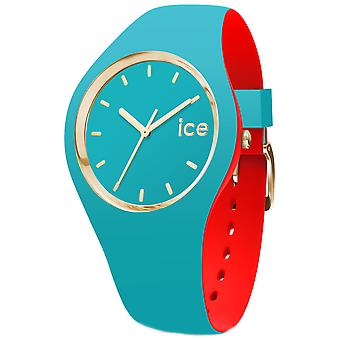 Ice loulou Watch for Unisex Analog Quartz with Silicone Bracelet IC007242