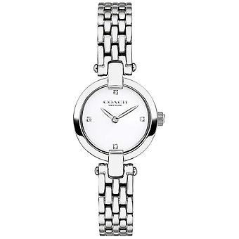 Coach | Womens | Chrystie | Steel Bracelet | White Dial | 14503390 Watch