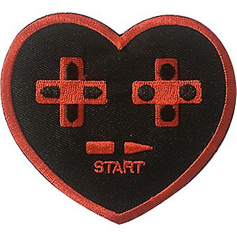 Patch - Video Games - Heart Start Icon-On p-dsx-4692
