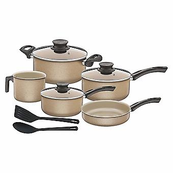 Tramontina Paris Granito Cookware Set (Pack Of 10)