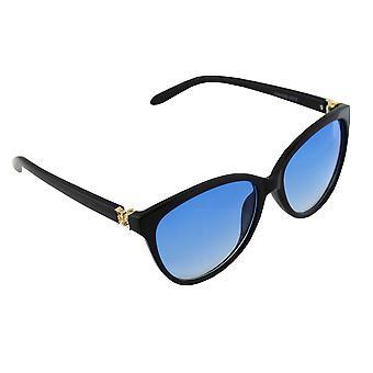 Solglasögon Ladies Wayfarer - Guld/Svart/Blauw2618_1